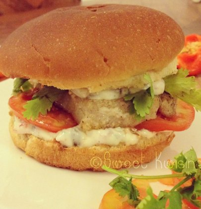 Le fish burger… bien marlin ce burger!