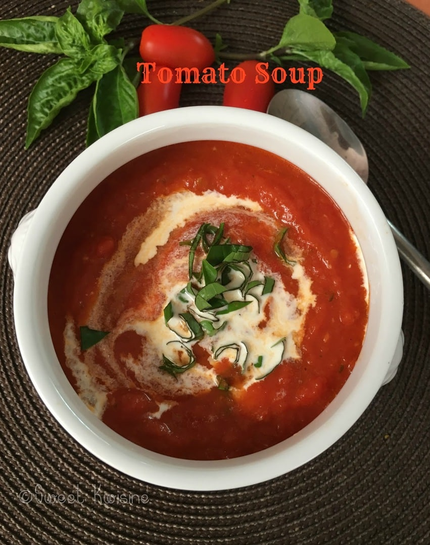 sweet kwisine, tomato soup, grilled cheese, soupe de tomate, croque-monsieur, camembert, fromage, jambon, cuisine rapide, basilic, roasted tomato, easy cooking, homemade cooking