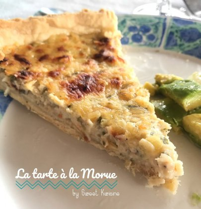 La tarte à la morue salée made in Martinique
